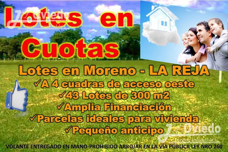 Foto Terreno en Venta en  La Reja Chica,  La Reja  Estados Unidos esquina Ricardo Rojas