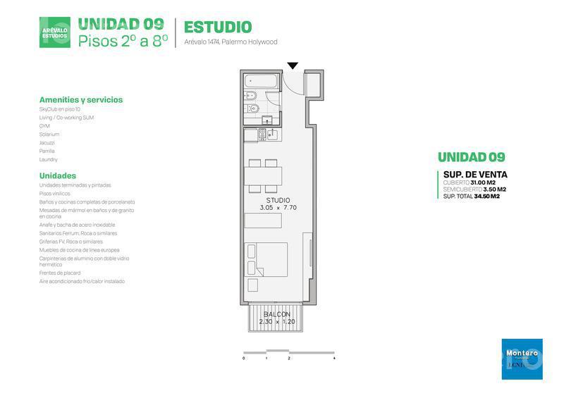 Foto Edificio en Palermo Hollywood Arévalo 1400 número 23