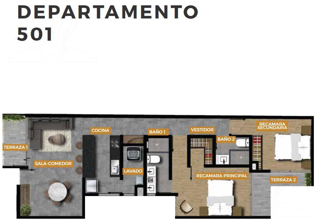 Foto Edificio en Roma Norte  SAN LUIS 136 número 5