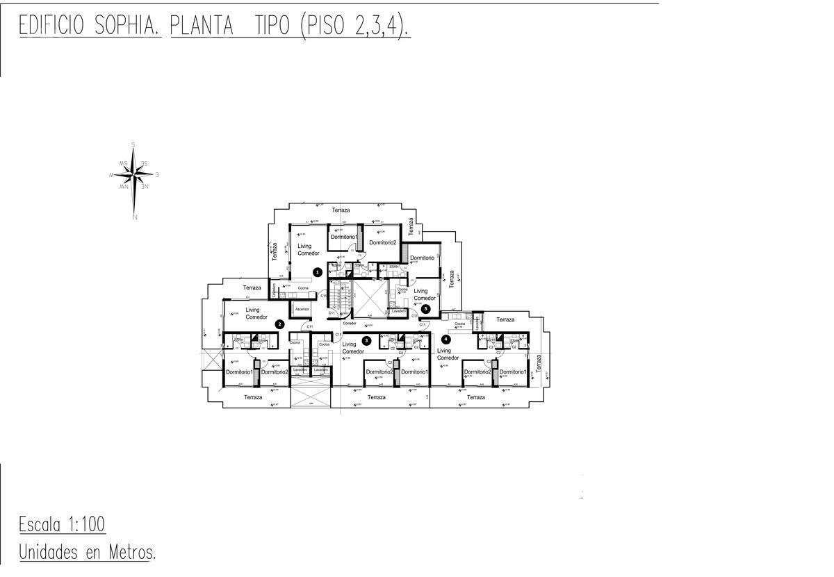 Foto Edificio en Playa Mansa Edificio Sophia Playa Mansa P18 Av Jose Terradel número 5
