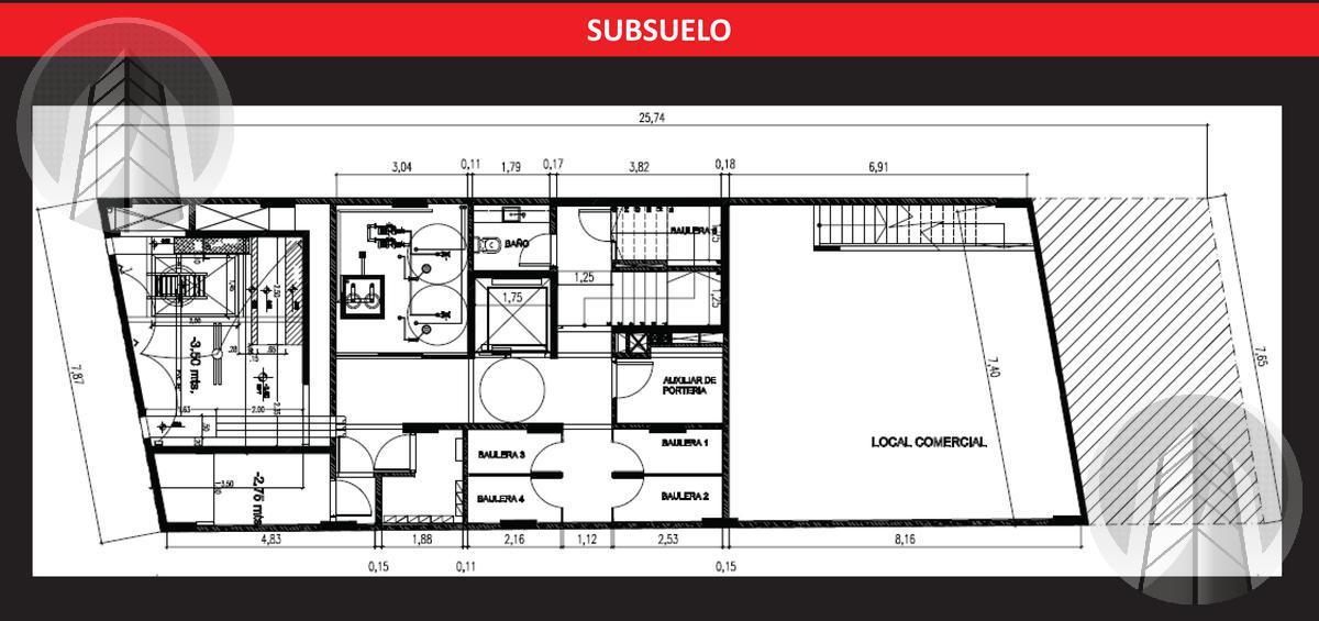 Foto Edificio en Palermo Guemes al 3700 número 7