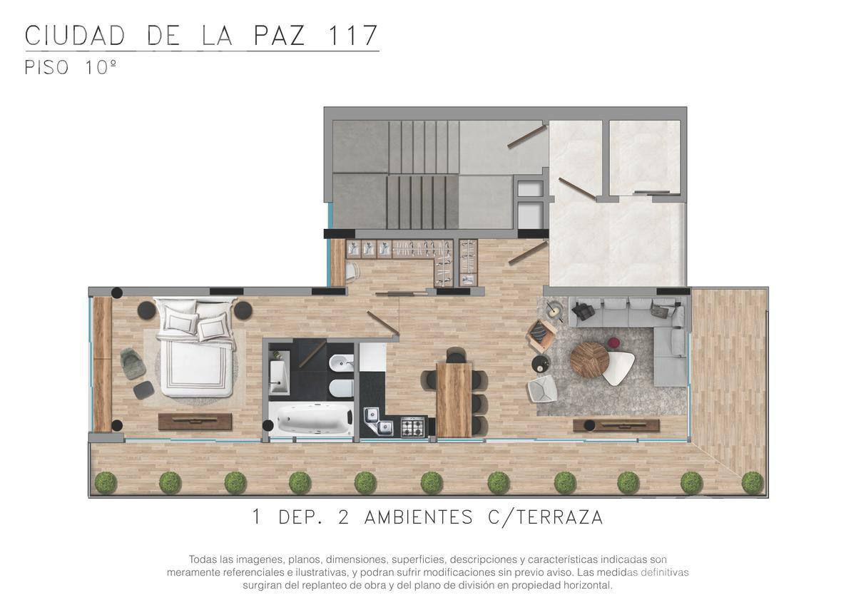 Foto Edificio en Palermo Ciudad de la Paz entre Santos Dumont y Cocepción Arenal numero 8