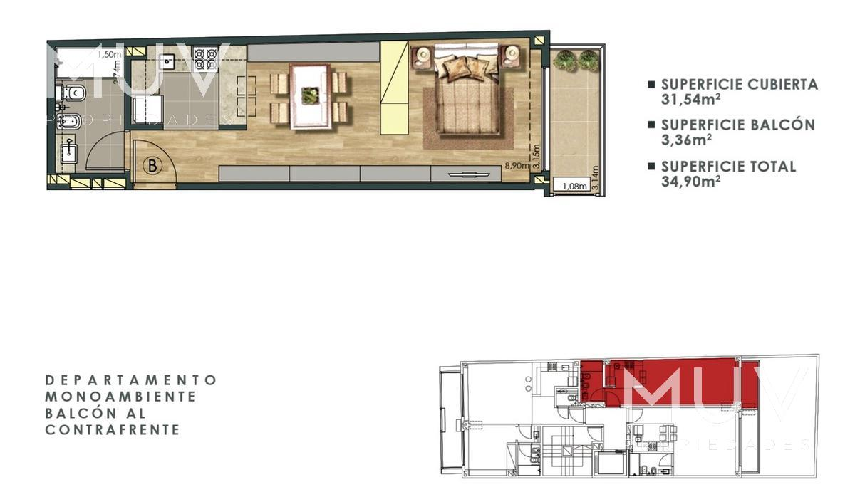 Foto Edificio en Recoleta Pacheco de Melo 2700 número 3