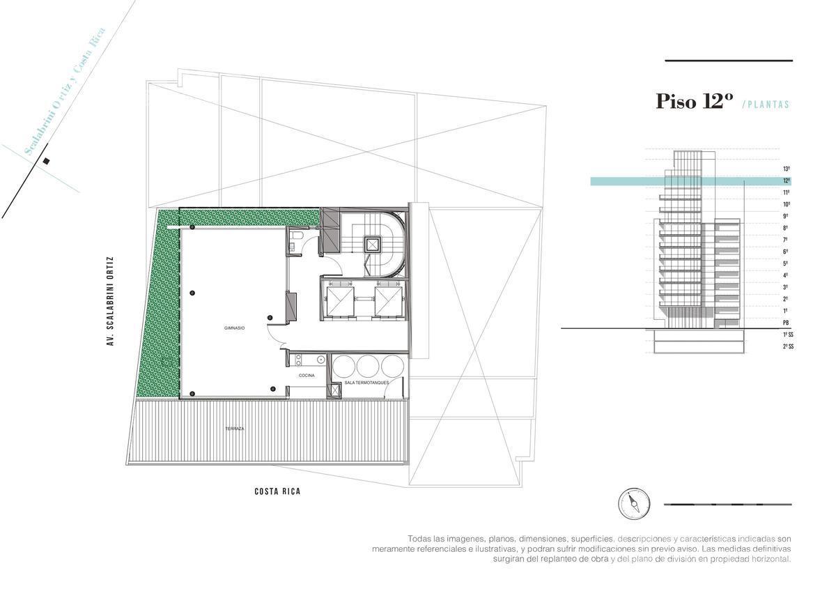 Foto Edificio en Palermo Soho Av. Scalabrini Ortiz y Costa Rica numero 16