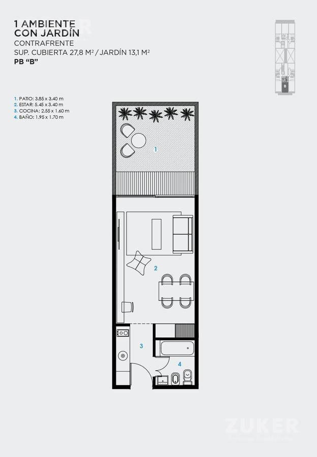 Foto Edificio en Saavedra Jaramillo 3744 número 13