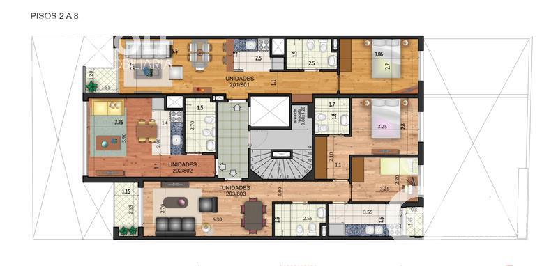 Foto Edificio en Pocitos Nuevo 26 de marzo y Buxareo  número 8
