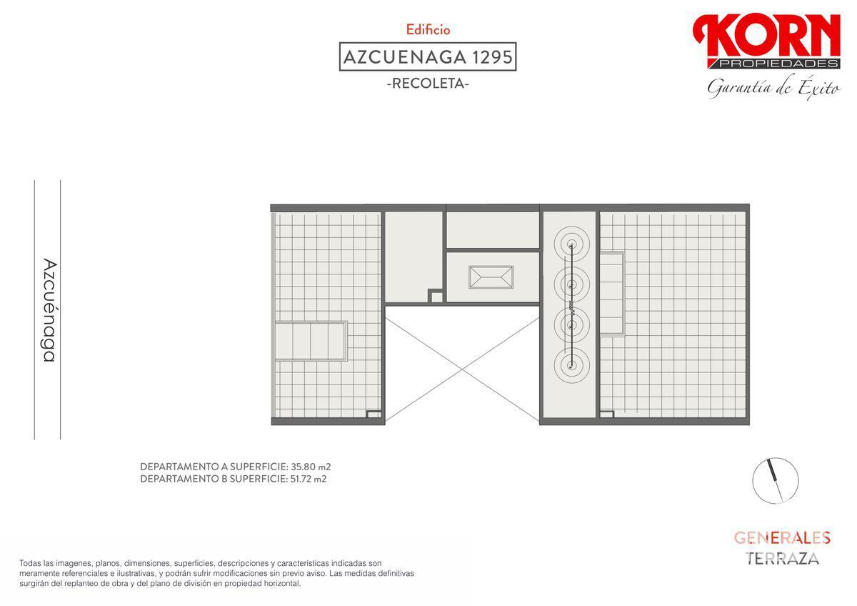 Foto Edificio en Recoleta Azcuénaga entre Beruti y Juncal numero 10