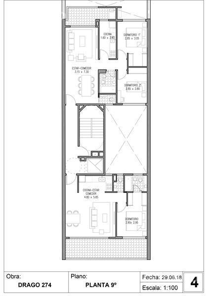 Foto Edificio en Villa Crespo Drago 272 número 10