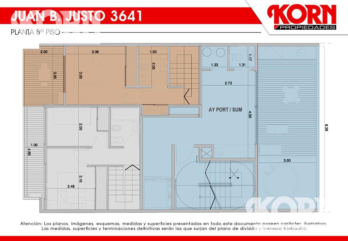 Foto Edificio en Villa Crespo Av. Juan B. Justo al 3600 entre Repetto y Cucha Cucha numero 12