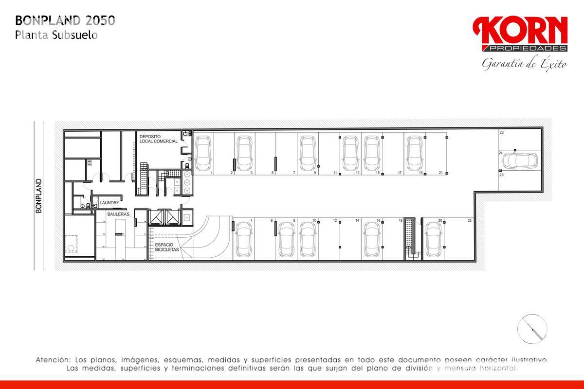 Foto Edificio en Palermo Hollywood Bonpland al 2000 entre Nicaragua y Soler numero 6