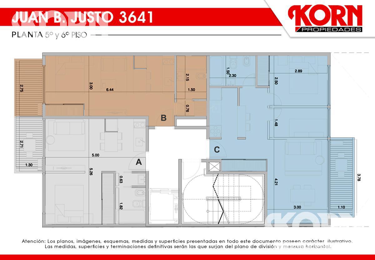 Foto Edificio en Villa Crespo Av. Juan B. Justo al 3600 entre Repetto y Cucha Cucha numero 10