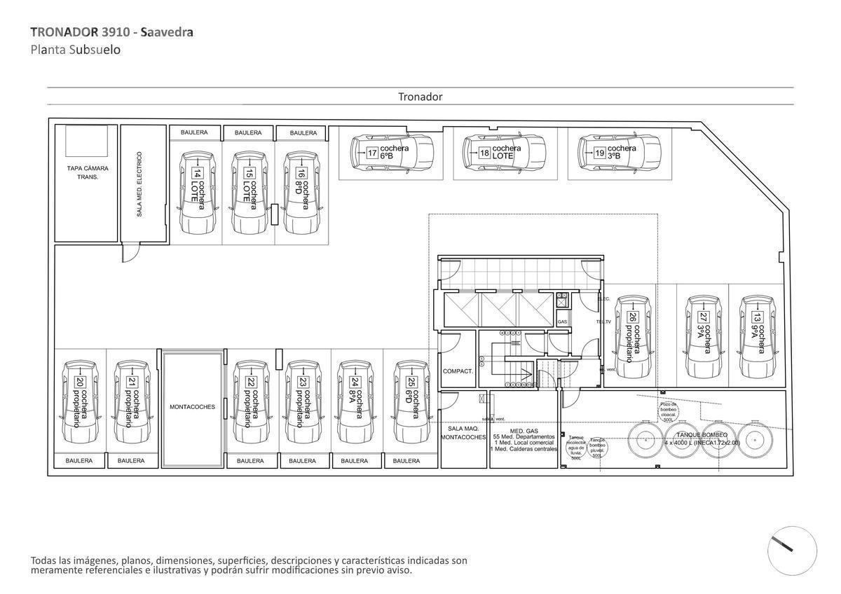 Foto Edificio en Saavedra Tronador al 3900 numero 6