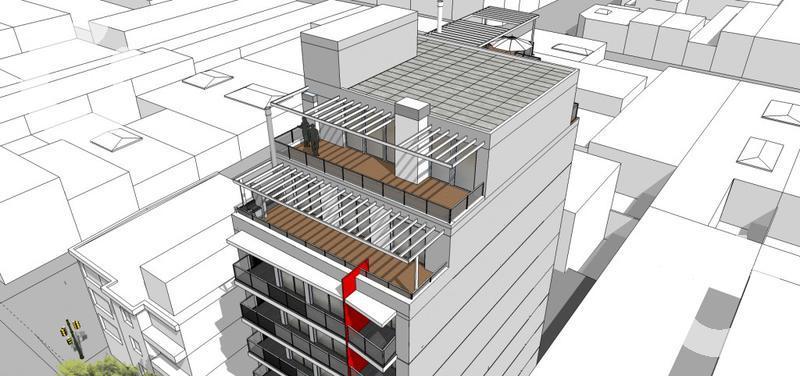 Foto Edificio en Centro Lanzamiento a metros Rambla.  numero 4