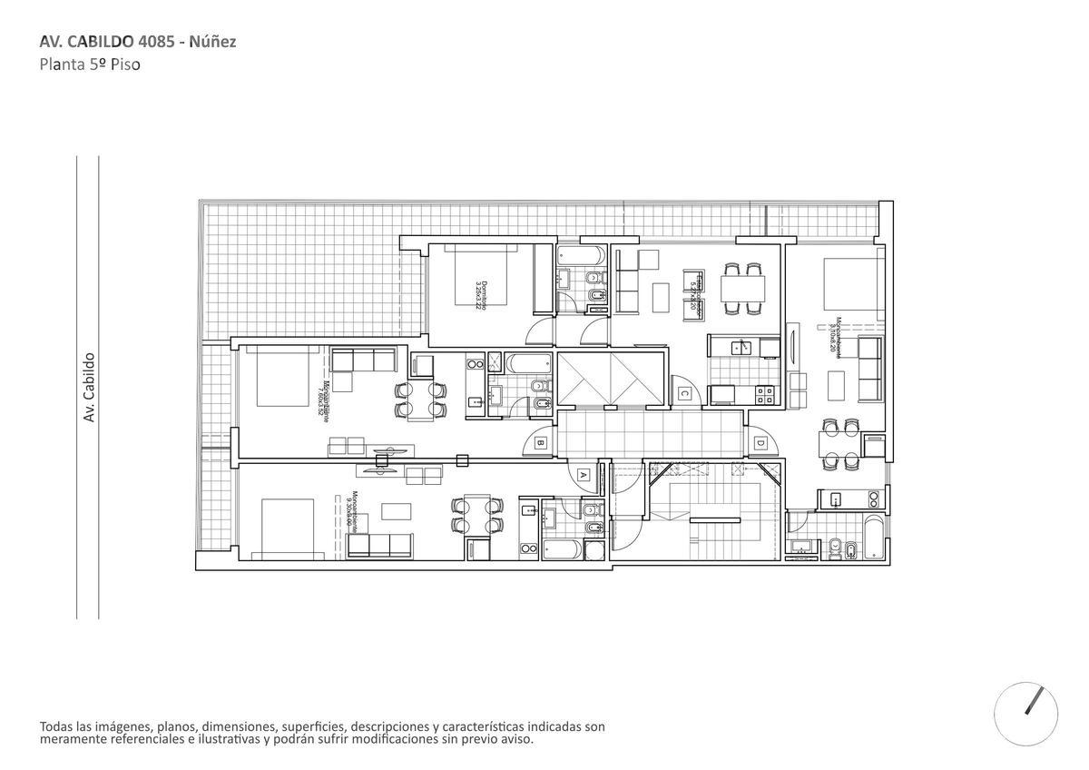 Foto Edificio en Nuñez Av. Cabildo y Vilela numero 4