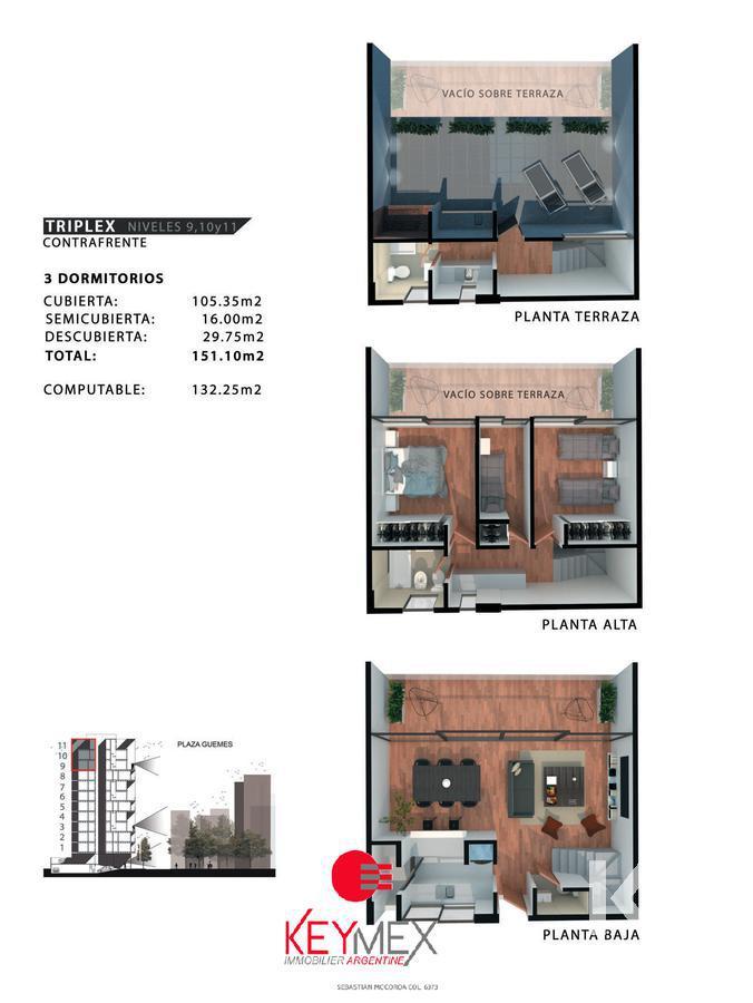 Foto Edificio en Barrio Norte Plaza Güemes número 8