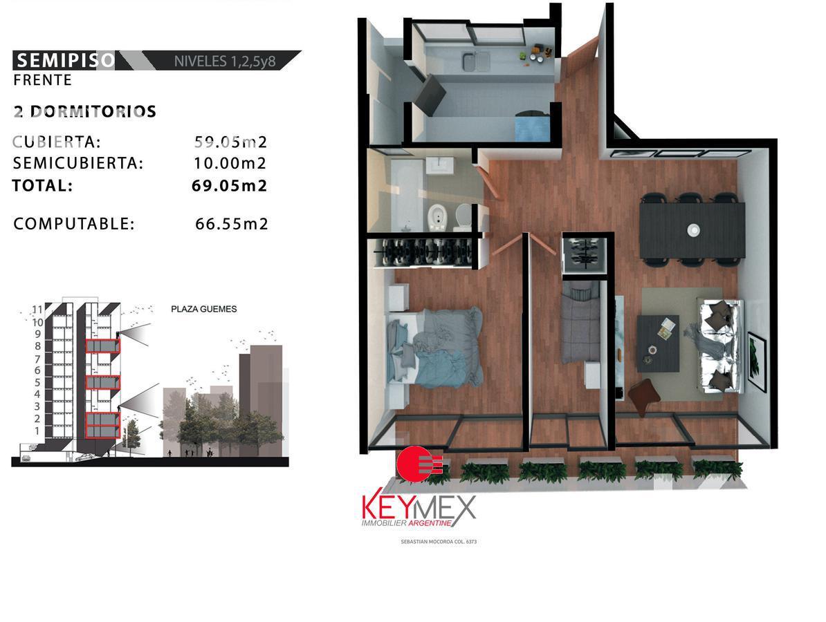 Foto Edificio en Barrio Norte Plaza Güemes número 3