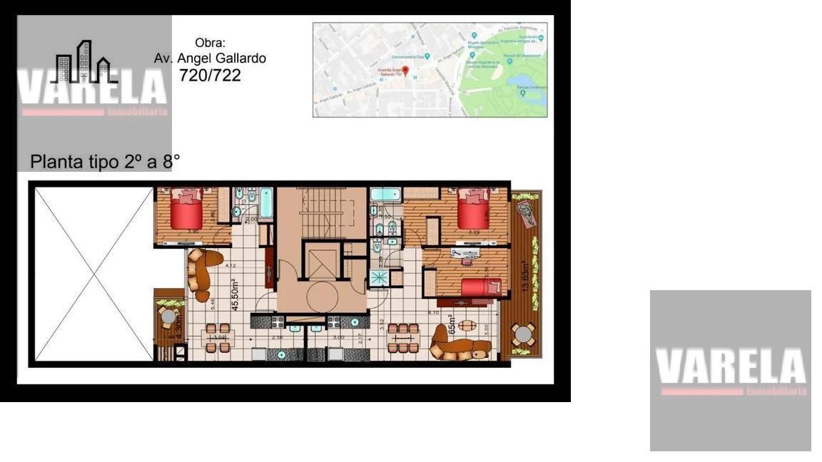 Foto Edificio en Caballito Norte Angel Gallardo 720 número 2