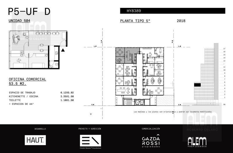 Foto Edificio de oficinas en Lomas de Zamora Oeste Avenida Hipólito Yrigoyen 8389 número 22