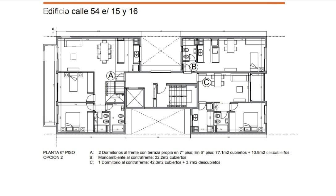 Foto Edificio en La Plata CALLE 54 ENTRE 15 Y 16 número 30