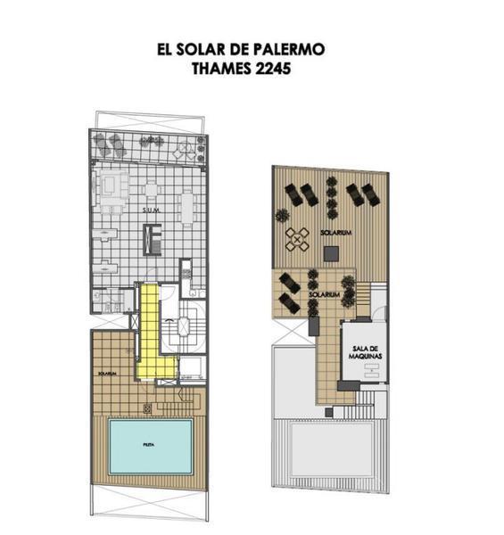 Foto Edificio en Palermo Thames 2200 número 8