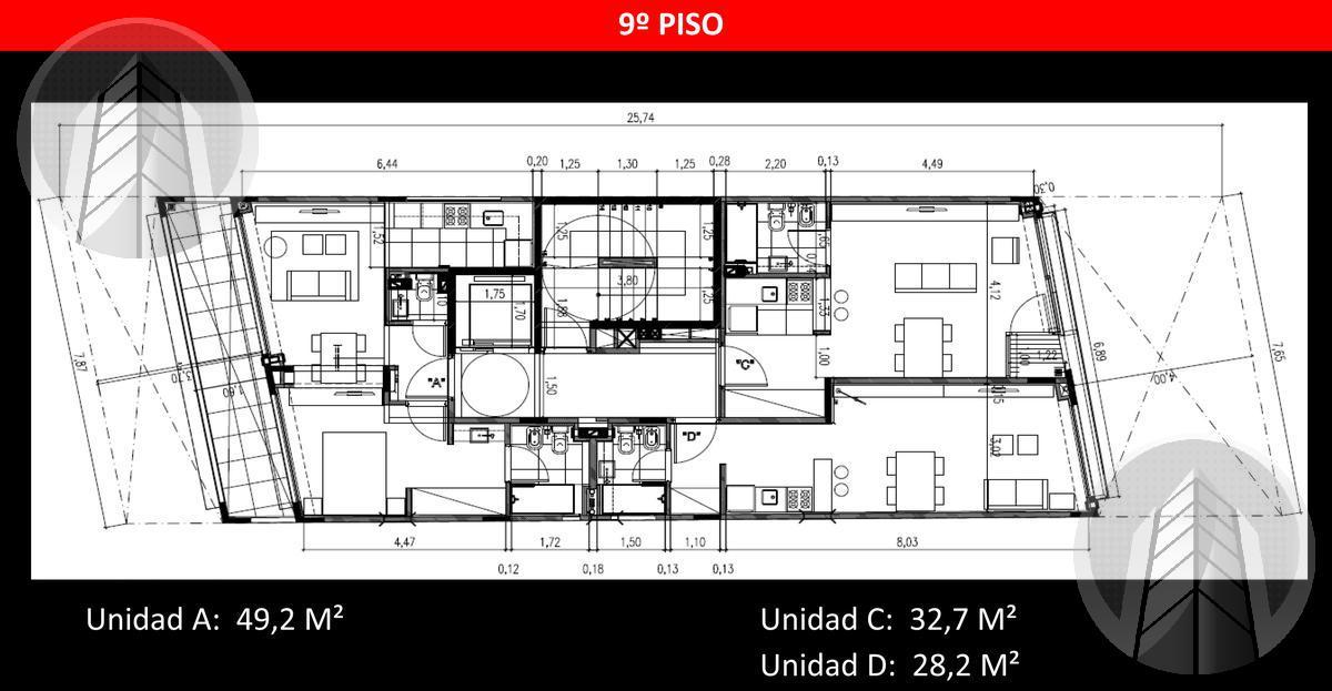 Foto Edificio en Palermo Guemes al 3700 número 12