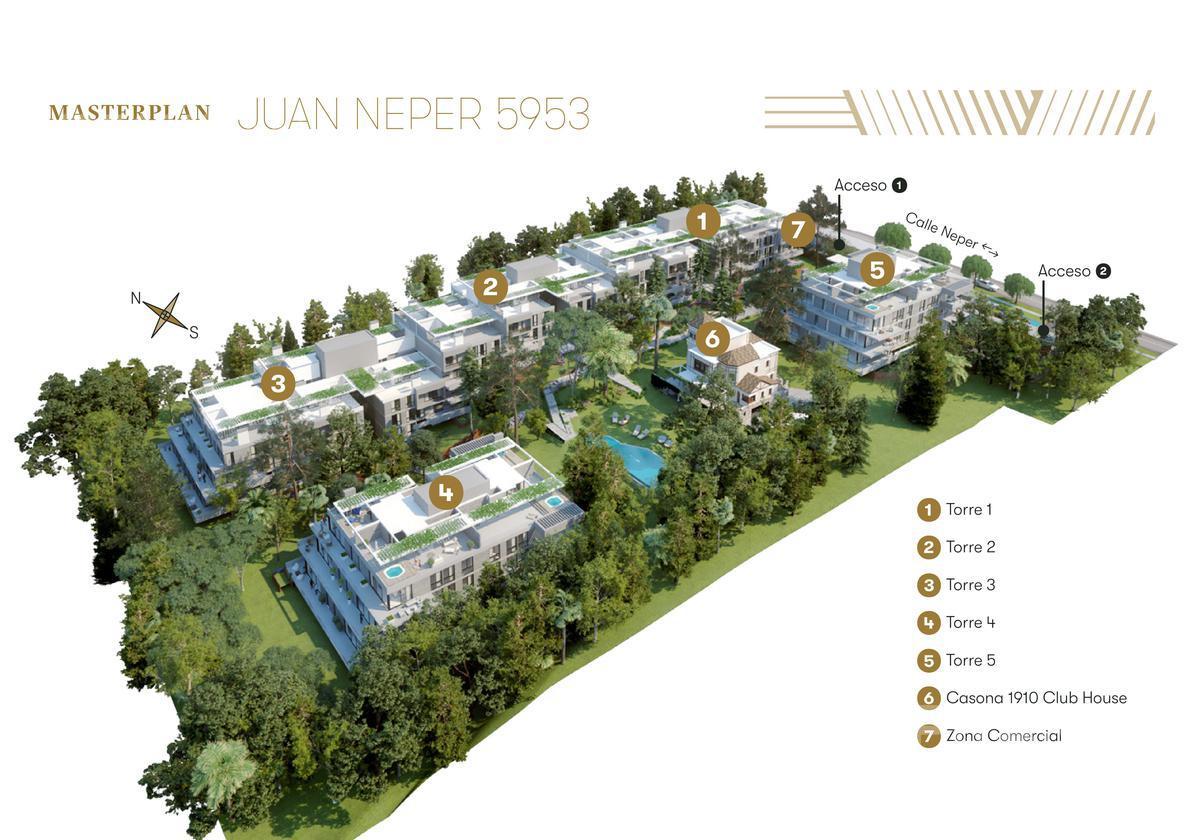 Foto Barrio Privado en Villa Belgrano NEPPER 5000 número 2