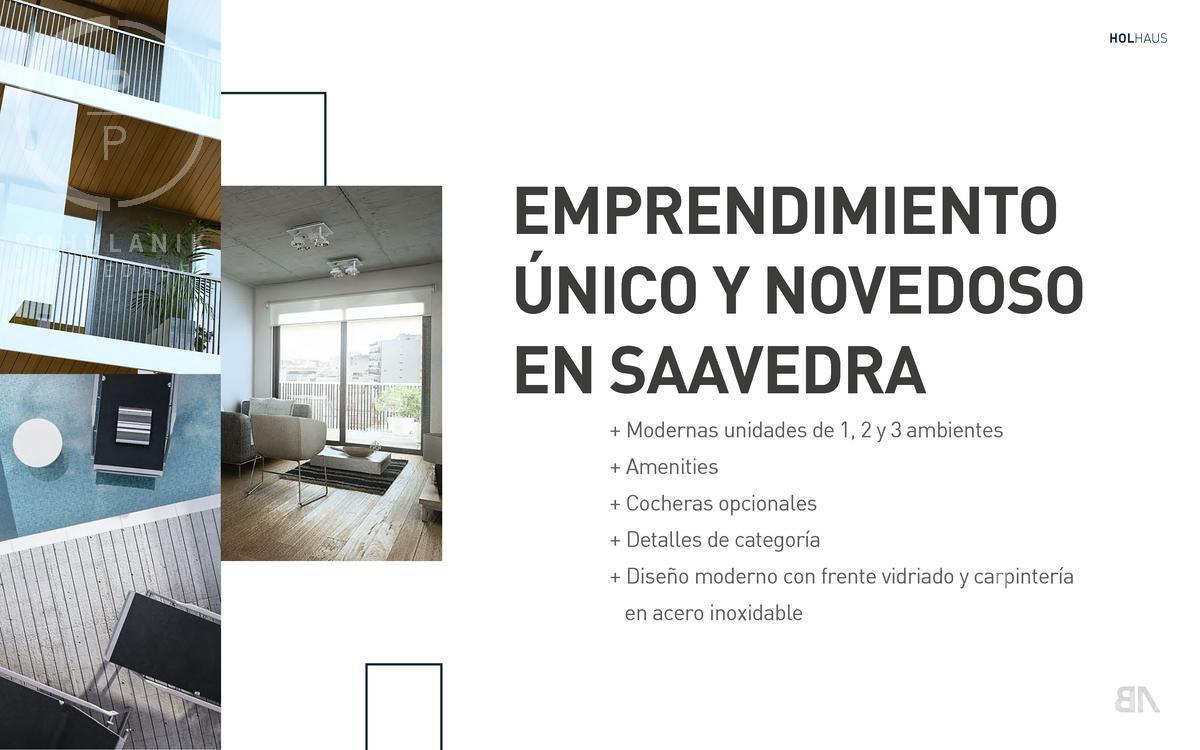 Foto Departamento en Venta en  Saavedra ,  Capital Federal  Holmberg al 4000 PB A