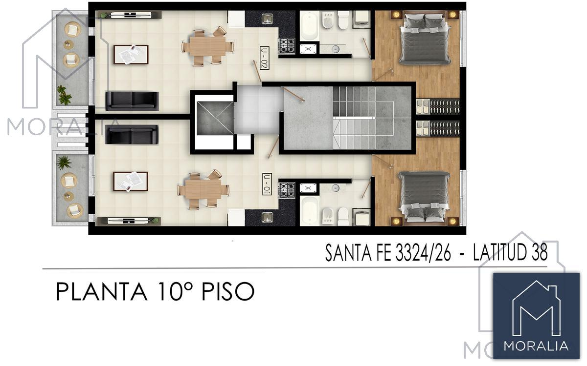 Foto Edificio en Luis Agote Santa fe 3300 número 9
