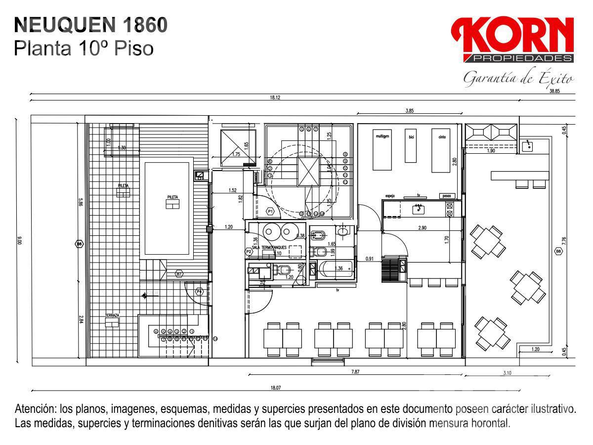 Foto Edificio en Caballito Norte Neuquén entre Donato Alvarez y Manuel Trelles numero 13