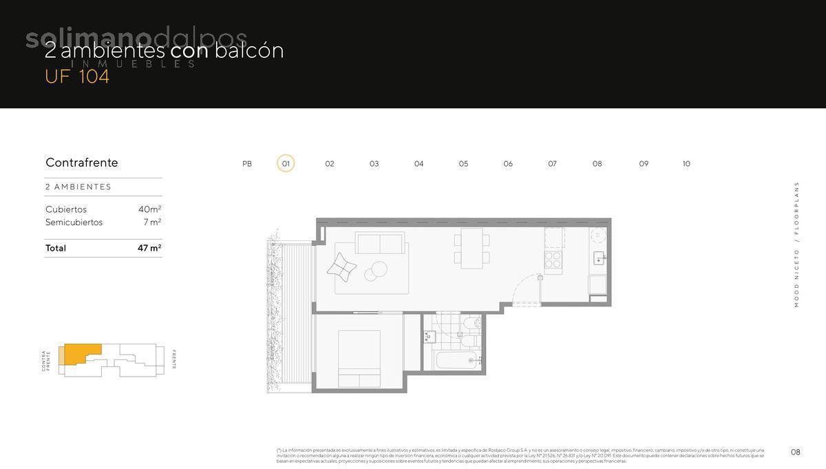 Foto Edificio en Palermo Hollywood Niceto Vega 5648 número 14