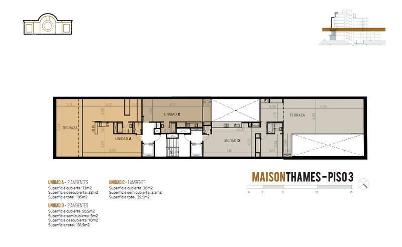 Foto Edificio en Palermo Thames 2450 número 8