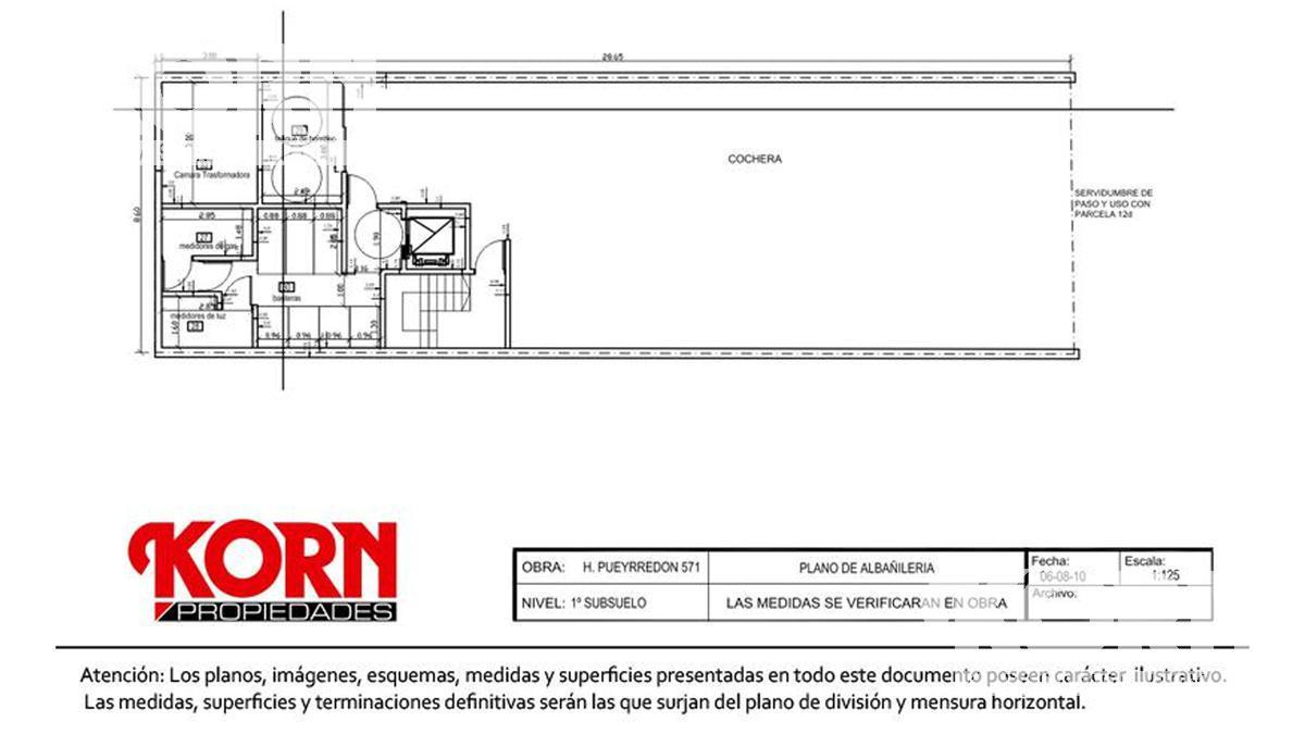 Foto Edificio en Caballito Av. H. Pueyrredón al 500 entre Aranguren y M. de Andes numero 20