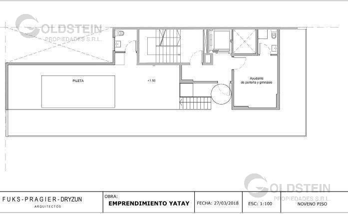 Foto Edificio en Almagro Yatay 1001 número 5