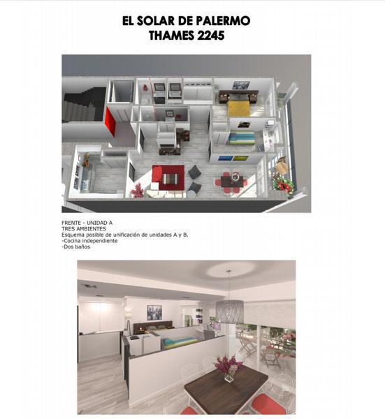 Foto Edificio en Palermo Thames 2200 número 4