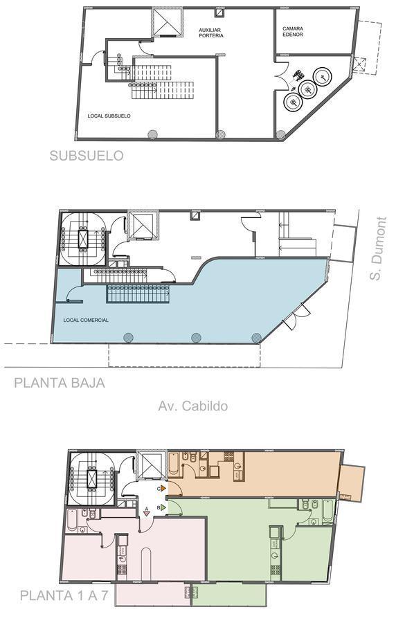 Foto Edificio en Palermo Santos Dumont 2395 número 3