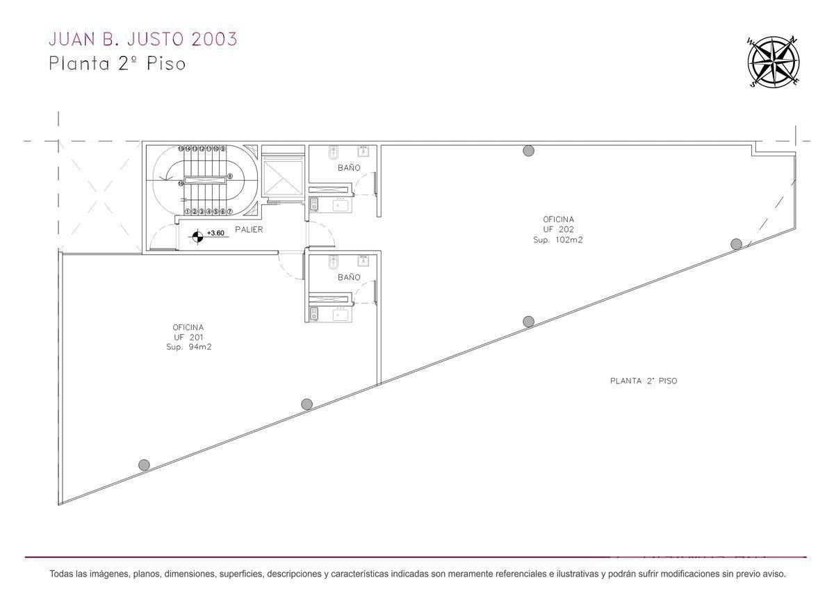 Foto Edificio de oficinas en Villa Crespo Juan B. Justo y Castillo numero 10