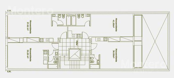 Foto Edificio en Nuñez Correa 2200 número 6