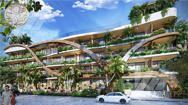 Foto DESARROLLO - Condominio en  en  Tulum , Quintana Roo  MENESSE TULUM, Estudios y Penthouses en Venta, TULUM, Q. ROO