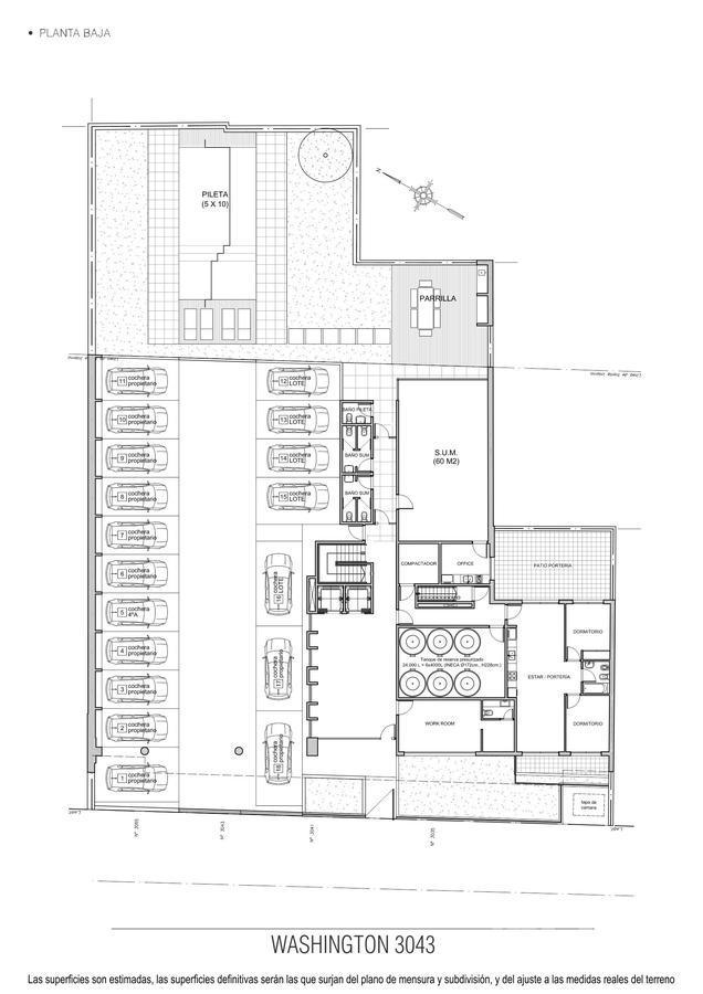 Foto Edificio en Coghlan Washington entre Iberá y Quesada numero 3