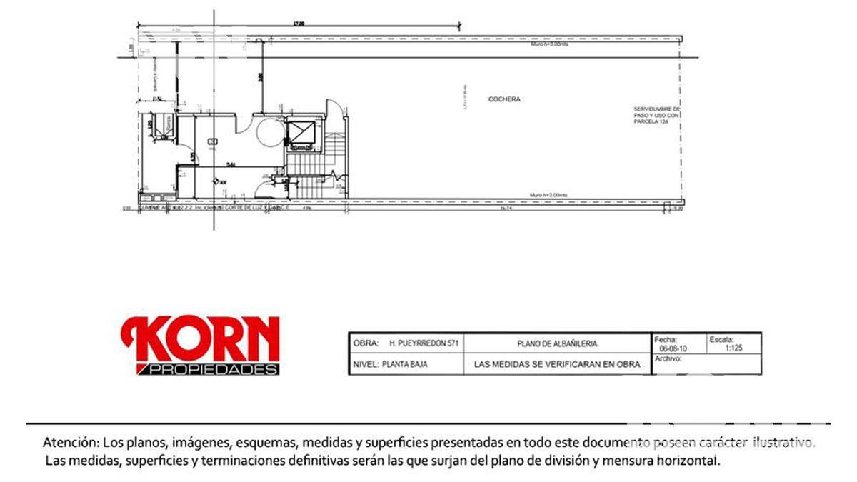Foto Edificio en Caballito Av. H. Pueyrredón al 500 entre Aranguren y M. de Andes numero 21
