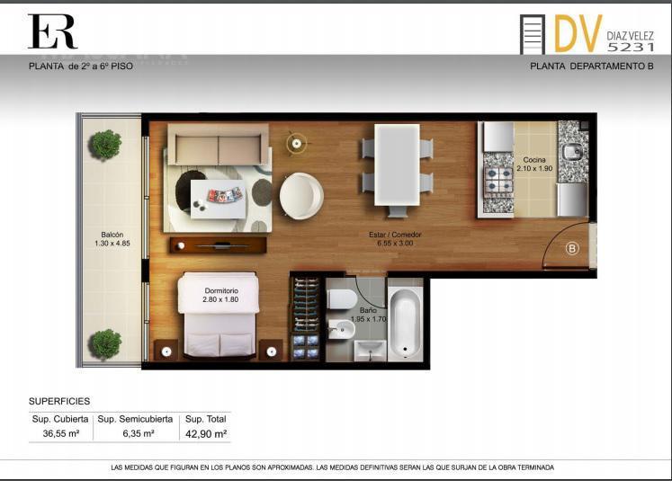 Foto Edificio en Caballito Diaz Velez 5231 número 7