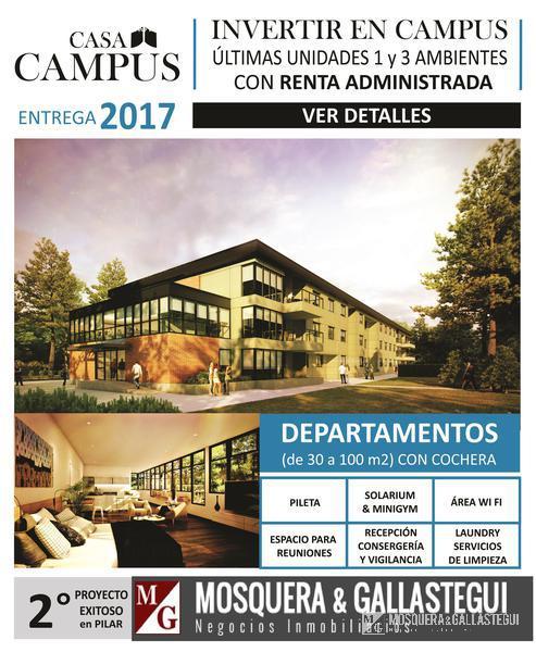 Foto  en Countries/B.Cerrado (Pilar) Campus Suites II