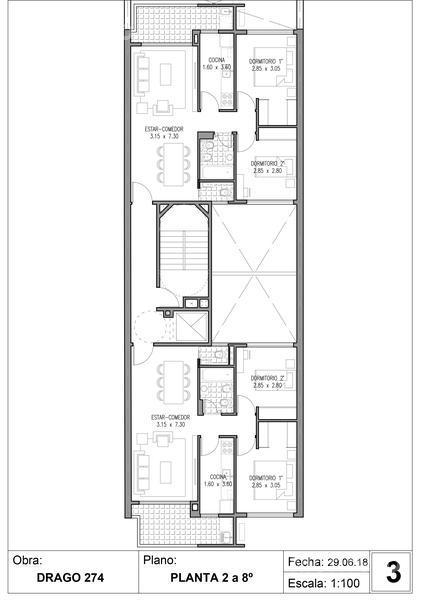 Foto Edificio en Villa Crespo Drago 272 número 8