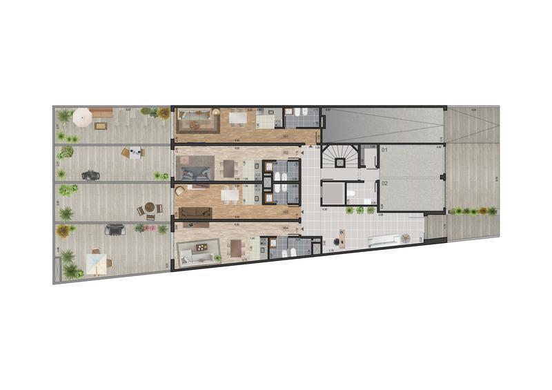 Foto Edificio en Pocitos Nuevo Proximo a WTC  número 7
