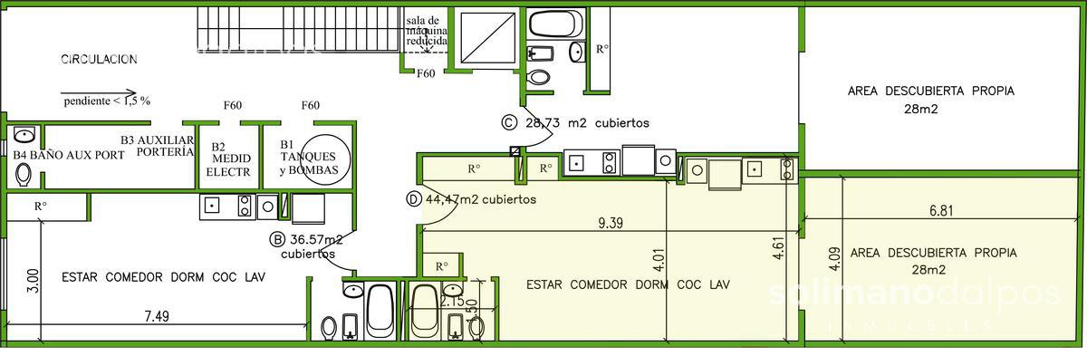 Foto Edificio en Saavedra Paroissien 4464    número 5