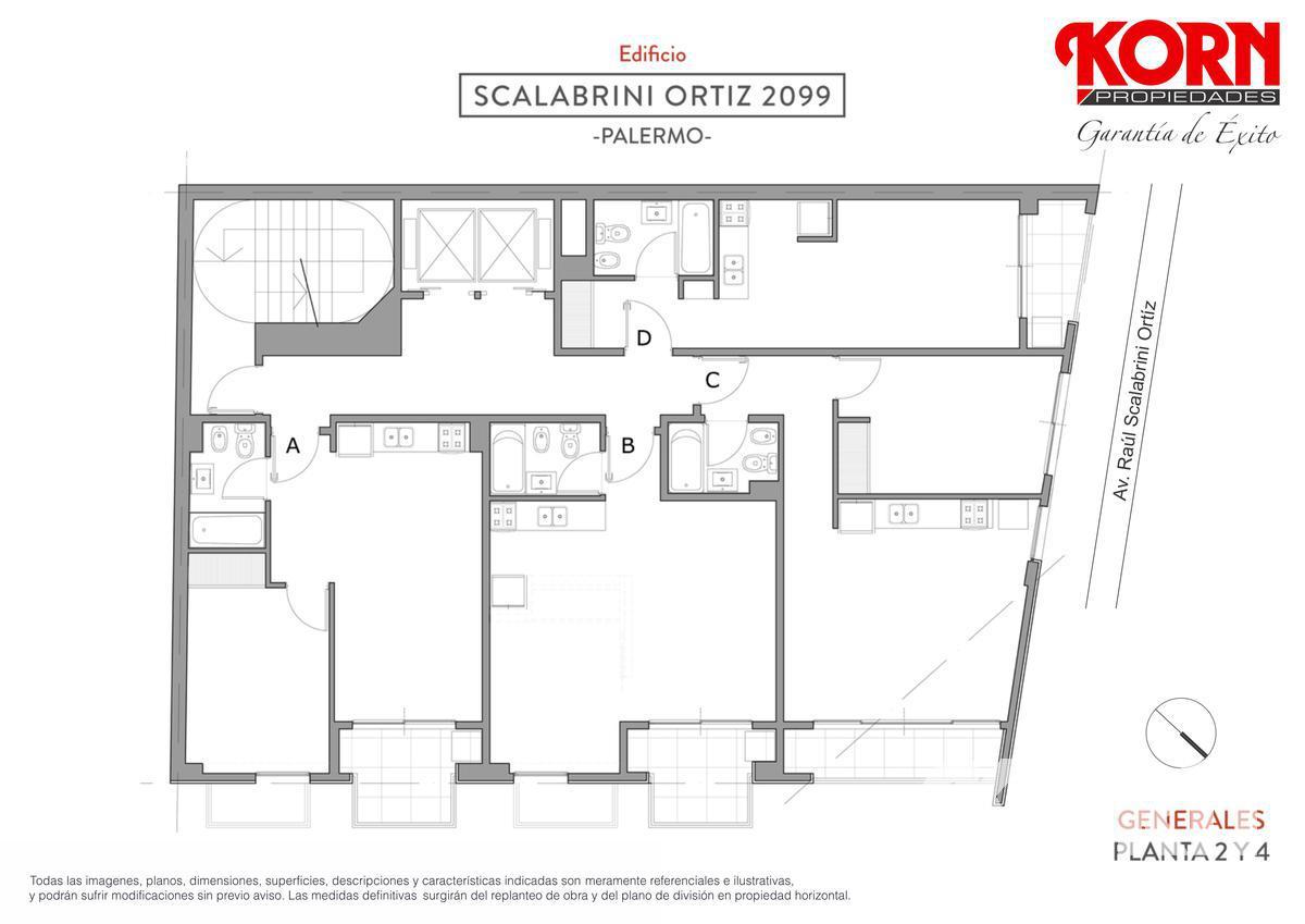 Foto Edificio en Palermo Av. Raul Scalabrini Ortiz y Paraguay numero 16