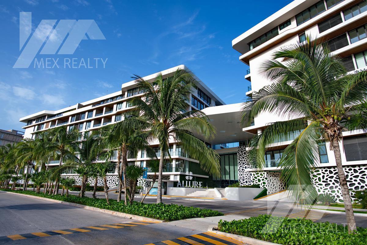 """Foto DESARROLLO - Condominio en  en  Cancún , Benito Juárez  """"ALLURE"""" Ocean Front Luxury Condos, Clave SIND421"""