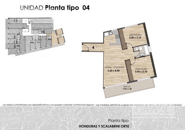 Foto Edificio en Palermo Honduras y Scalabrini Ortiz número 11