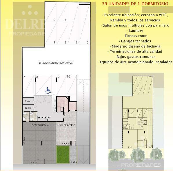 Foto Edificio en Pocitos 26 de marzo y Pereyra de la Luz número 8