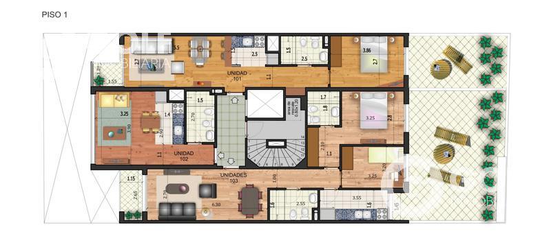 Foto Edificio en Pocitos Nuevo 26 de marzo y Buxareo  número 9